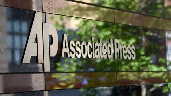 Logo agentury Associated Press (AP) - Sputnik Česká republika