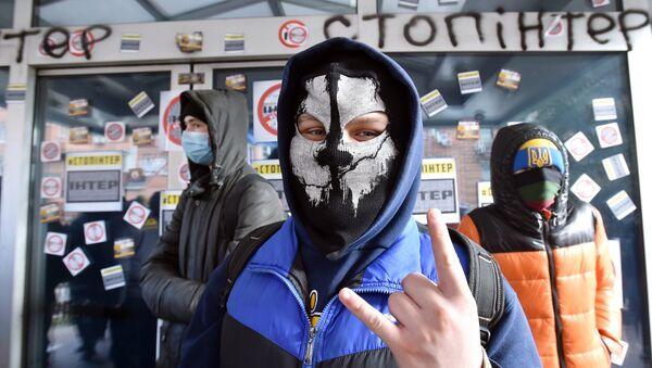 Aktivisté blokují televizní stanici Inter - Sputnik Česká republika