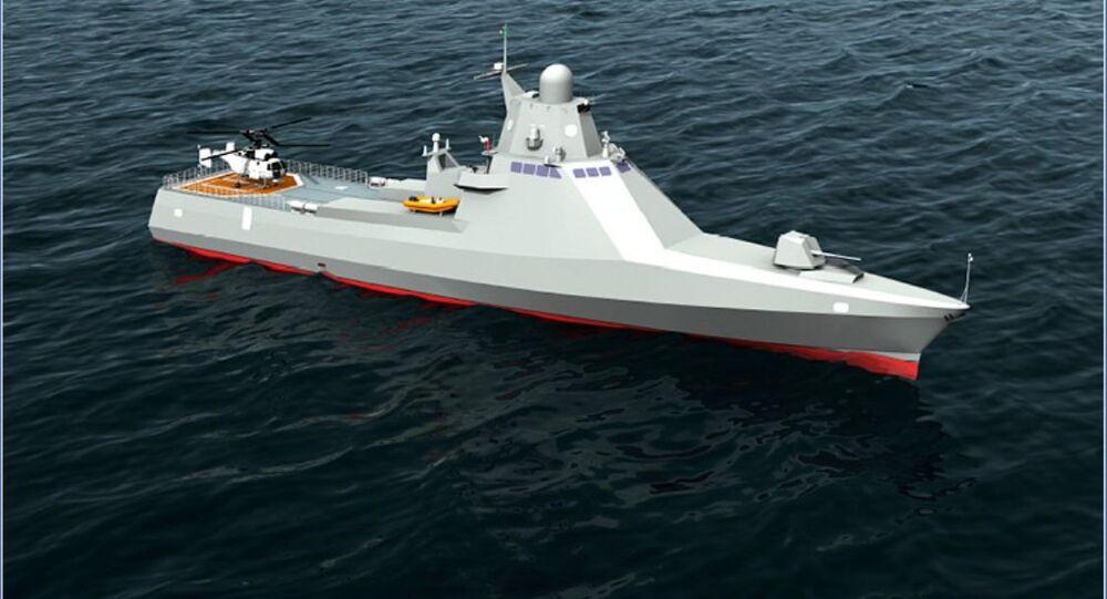 loď projektu 22160 Viktor Velikij
