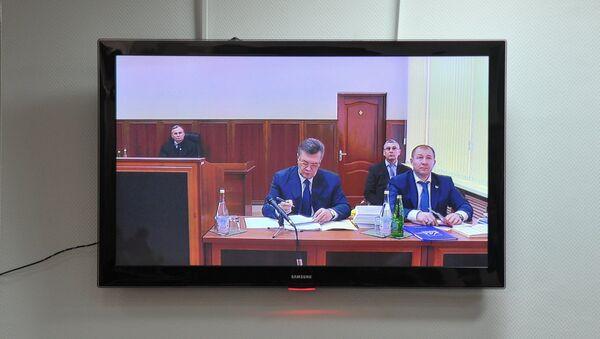 Výslech Viktora Janukovyče - Sputnik Česká republika