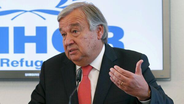 António Guterres - Sputnik Česká republika