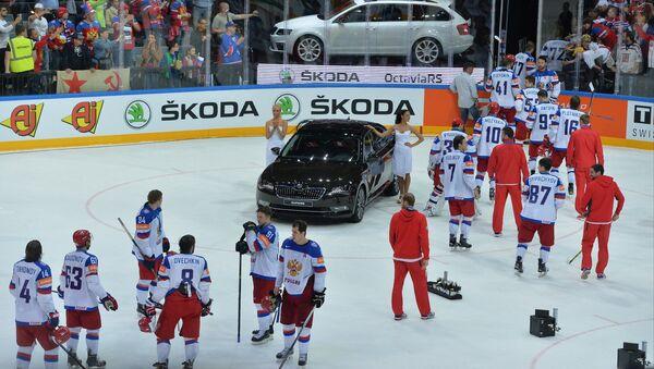 Ruská hokejová reprezentace - Sputnik Česká republika