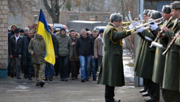 Mobilizace na Ukrajině - Sputnik Česká republika