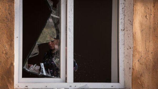 Následky ostřelování Doněcka - Sputnik Česká republika