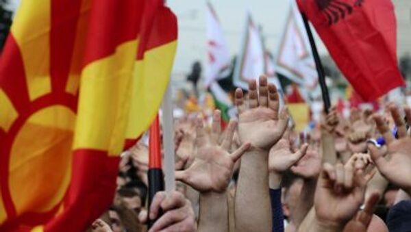 Situace v Makedonii - Sputnik Česká republika