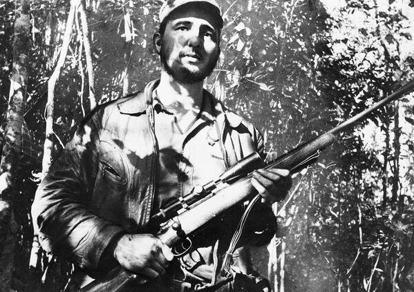 Fidel Castro - buřič, rybář a milovník krásy - Sputnik Česká republika
