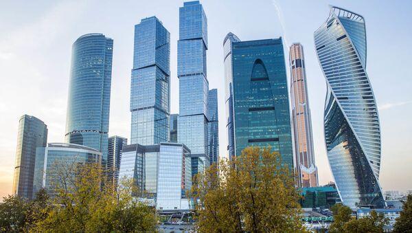Obchodní čtvrť Moskva-City - Sputnik Česká republika