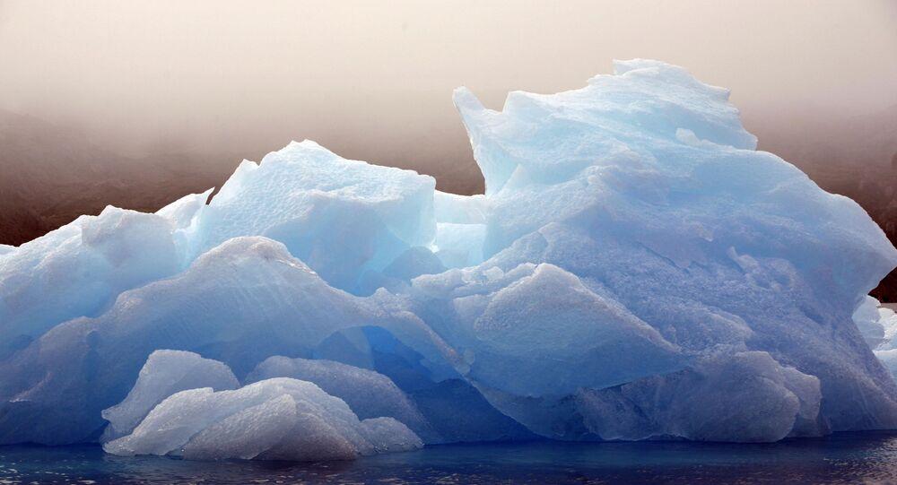 Ledovec v Grónsku
