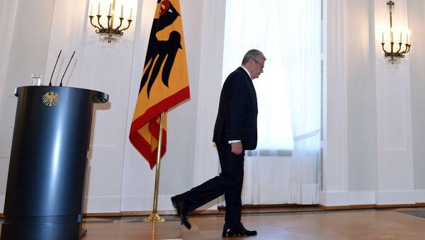 Německý prezident Joachim Gauck - Sputnik Česká republika