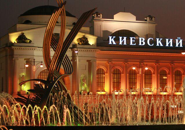 Kyjevské nádraží v Moskvě