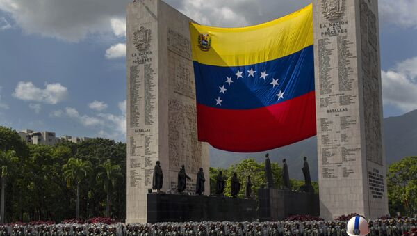 Den nezávislosti Venezuely, Caracas (El Día de la Independencia de Venezuela) - Sputnik Česká republika