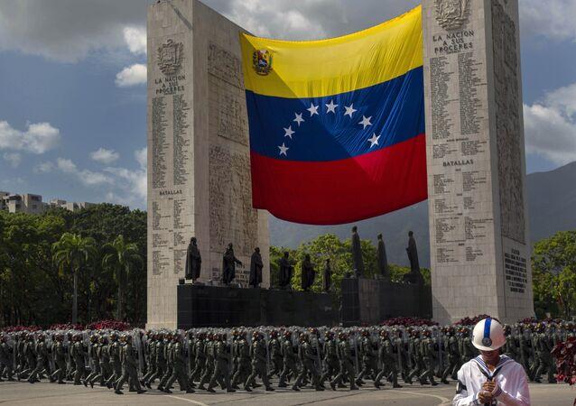 Den nezávislosti Venezuely, Caracas (El Día de la Independencia de Venezuela)