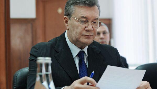 Bývalý ukrajinský prezident Viktor Janukovyč - Sputnik Česká republika