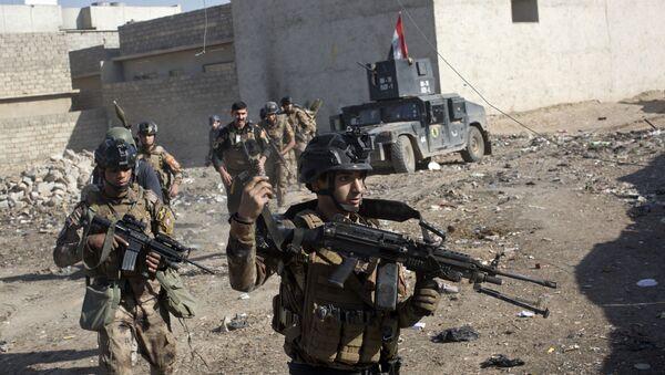 Iráčtí vojáci v Mosulu - Sputnik Česká republika