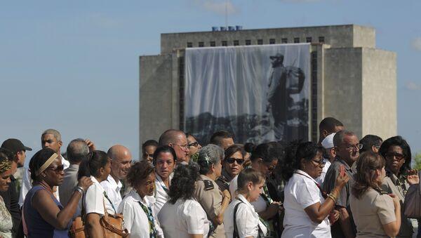 Rozloučení s Fidelem. Havana - Sputnik Česká republika