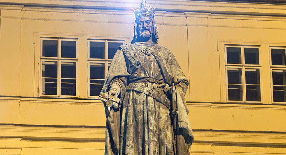 Pomník císaře Karla IV. v Praze