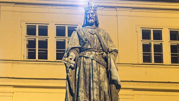 Pomník císaře Karla IV. v Praze - Sputnik Česká republika