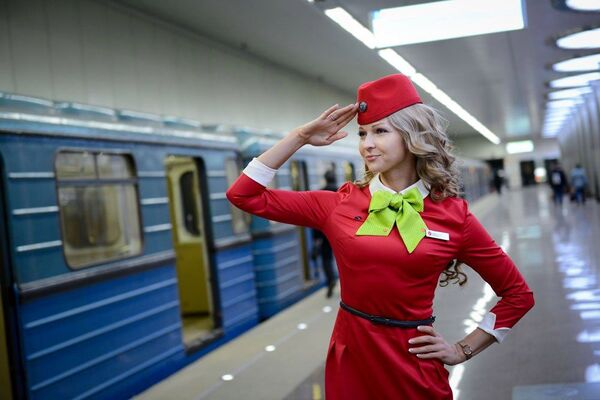 Soutěž TOP nejkrásnějších letušek Ruska - Sputnik Česká republika
