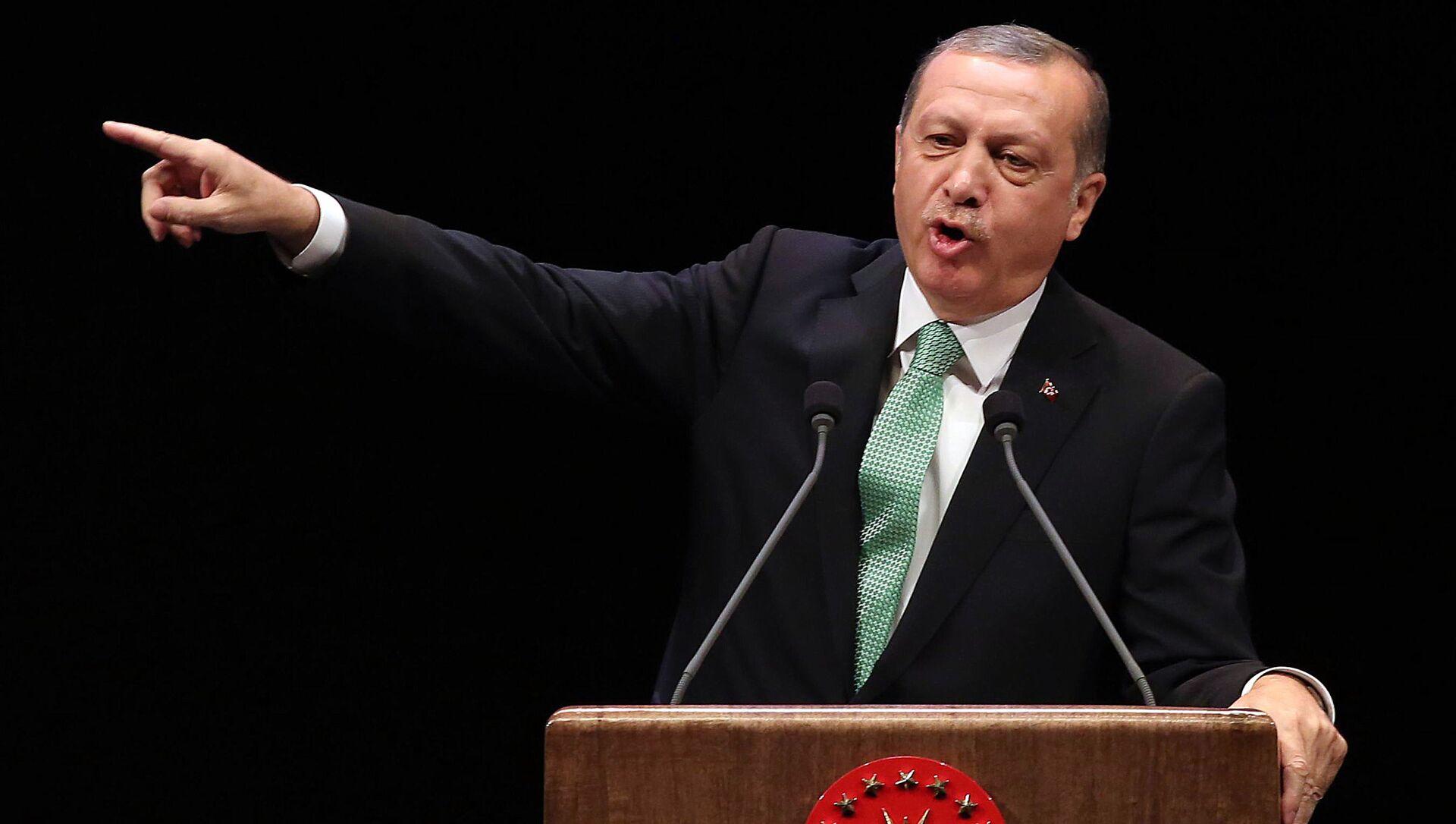 Turecký prezident Recep Tayyip Erdogan - Sputnik Česká republika, 1920, 20.03.2021