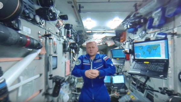 Vesmír 360: Panoramatická tour po oblíbených místech na stanici - Sputnik Česká republika
