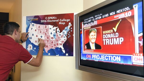 Rating Donalda Trumpa na obrazovce - Sputnik Česká republika