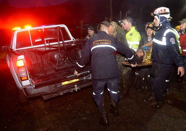 Byly oznámeny další okolnosti letecké katastrofy v Kolumbii