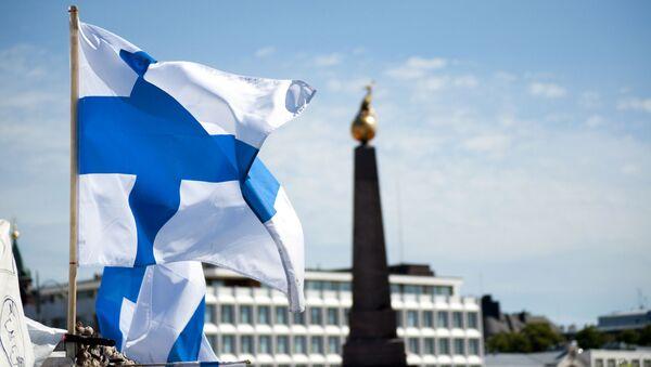 Finská vlajka - Sputnik Česká republika
