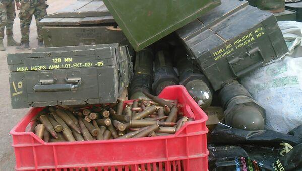 Osvobození města Han aš-Ših od teroristů - Sputnik Česká republika