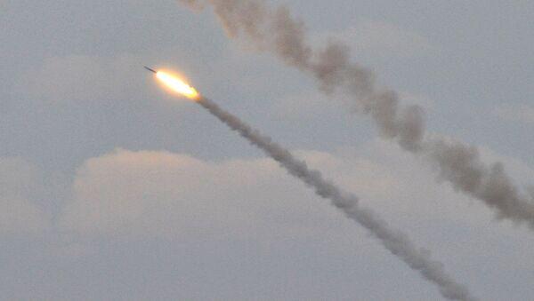 Ukrajinské raketové střelby v blízkosti Krymu - Sputnik Česká republika