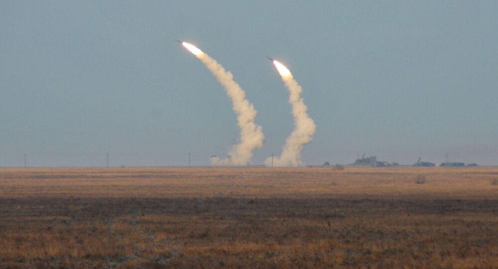 Ukrajinské raketové střelby