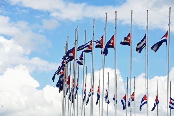 Jak se Kuba loučila s Fidelem Castrem - Sputnik Česká republika