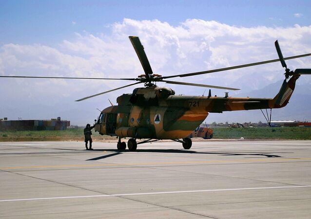 Vrtulník Mi-17 v Afghánistánu