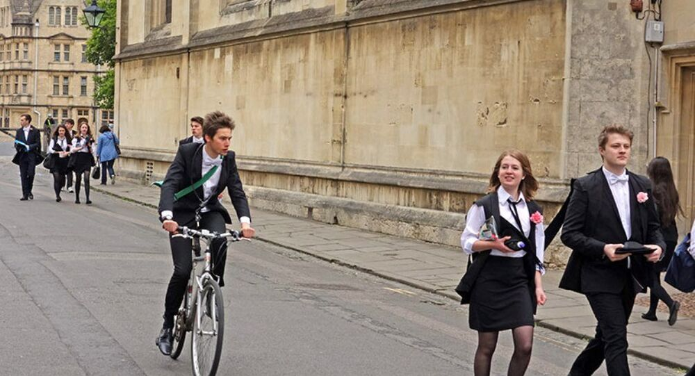 Studenti Oxfordské univerzity