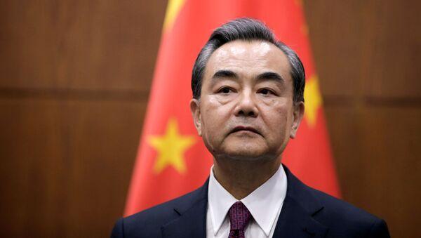 Čínský ministr zahraničí Wang I - Sputnik Česká republika