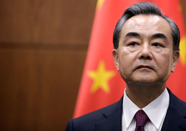 Ministr zahraničí ČLR Wang I.