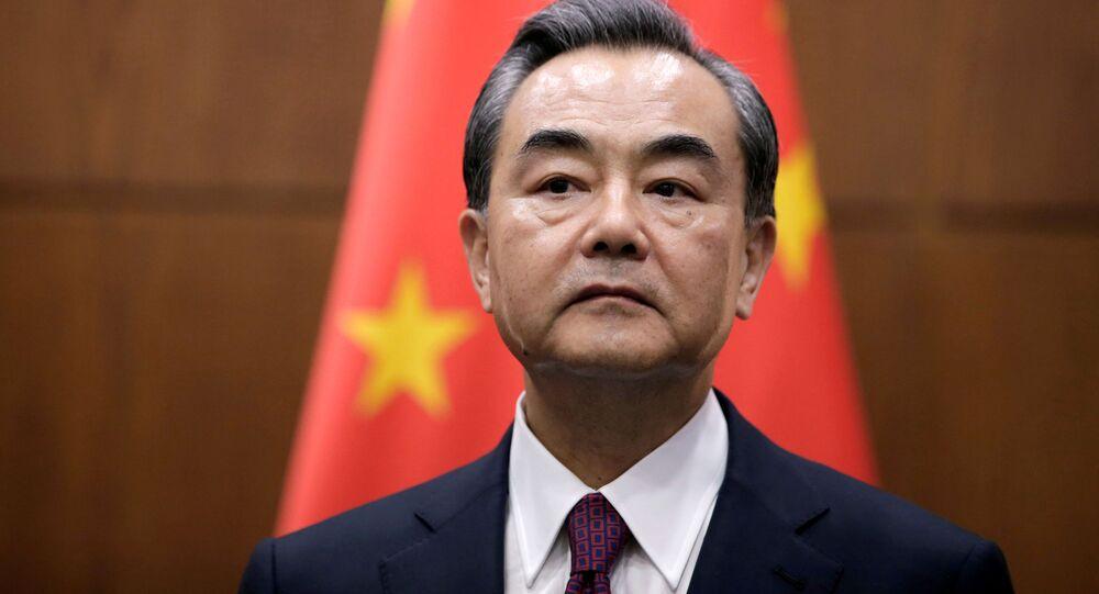 Čínský ministr zahraničí Wang-I