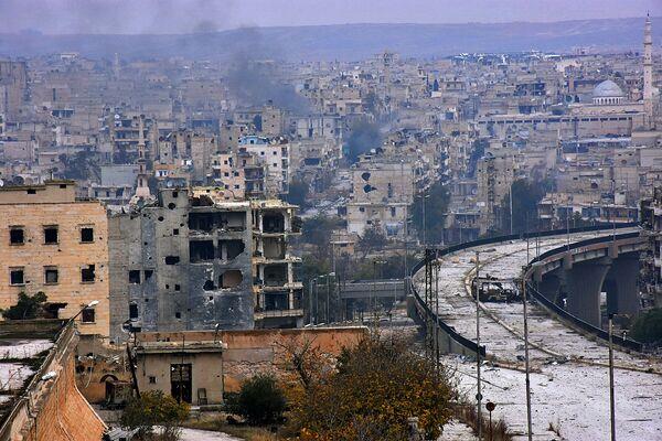 Osvobození východního Aleppa - Sputnik Česká republika