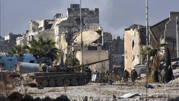 Syrská vojska - Sputnik Česká republika