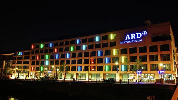 Studio ARD v Berlíně. Ilustrační foto - Sputnik Česká republika