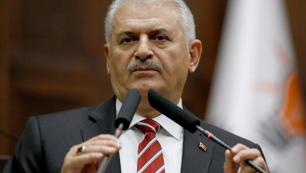 Turecký premiér Binali Yildirim. Ilustrační foto - Sputnik Česká republika