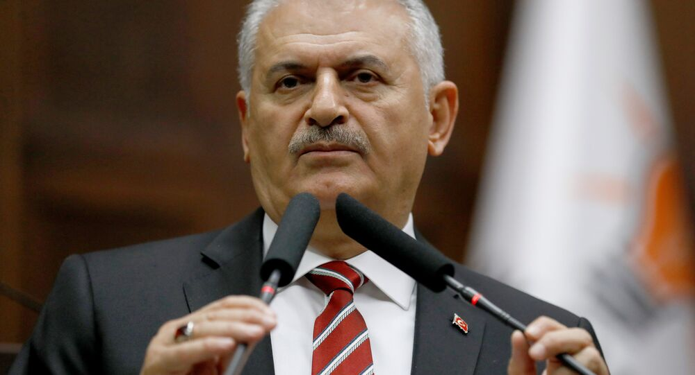 Turecký premiér Binali Yildirim. Ilustrační foto