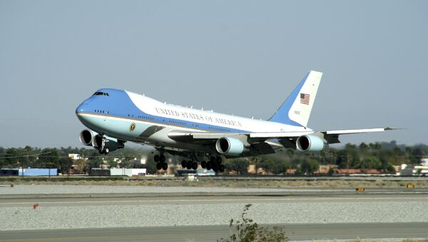 Air Force One prezidentů USA. Ilustrační foto - Sputnik Česká republika