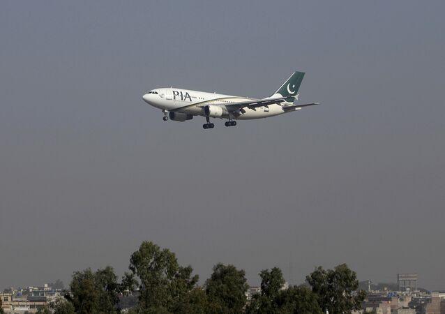 Letadlo společnosti Pakistan International Airlines (PIA)