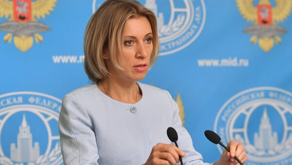 Mluvčí ministerstva zahraničí RF Maria Zacharová. - Sputnik Česká republika