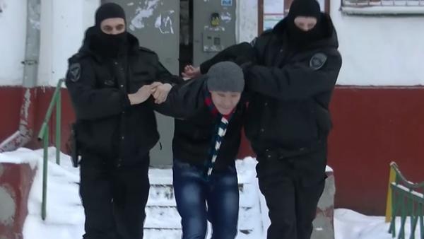 Zadržení 20 podezřelých extrémistů v Moskvě - Sputnik Česká republika