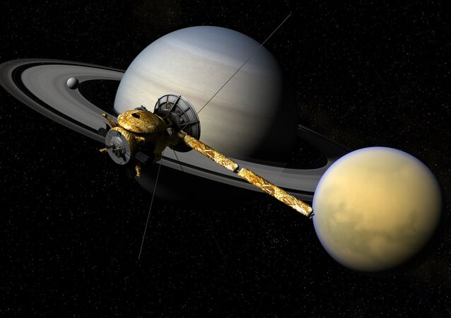 Cassini, Titan, & Saturn