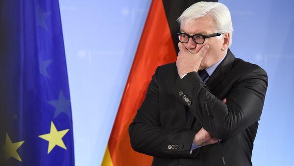 Šéf německého ministerstva zahraničních věcí, předseda OBSE Frank-Walter Steinmeier - Sputnik Česká republika