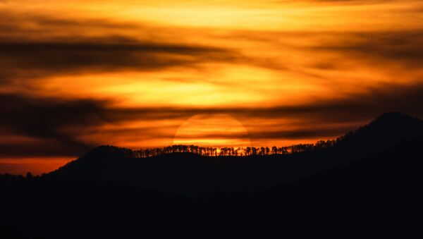 Západ slunce v Soči - Sputnik Česká republika