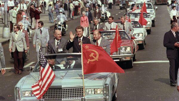 Sovětští kosnonauti v  Washingtonu - Sputnik Česká republika