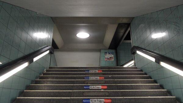 Metro na berlínské Hermannstraße. Ilustrační foto - Sputnik Česká republika